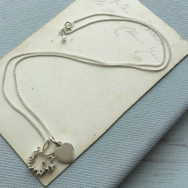 Love You More Duet Necklace