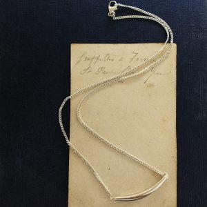 'Forever Strong' Necklace in Sterling Silver