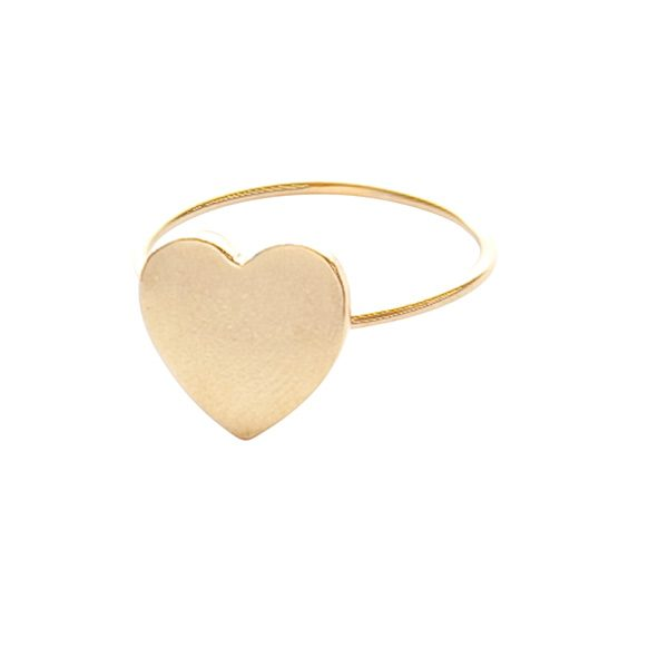 Gold Love Heart Ring
