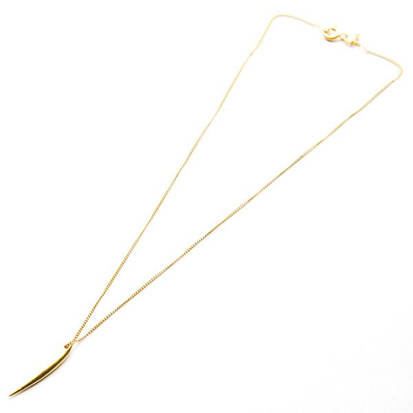 Forever Strong Tiny Necklace Gold
