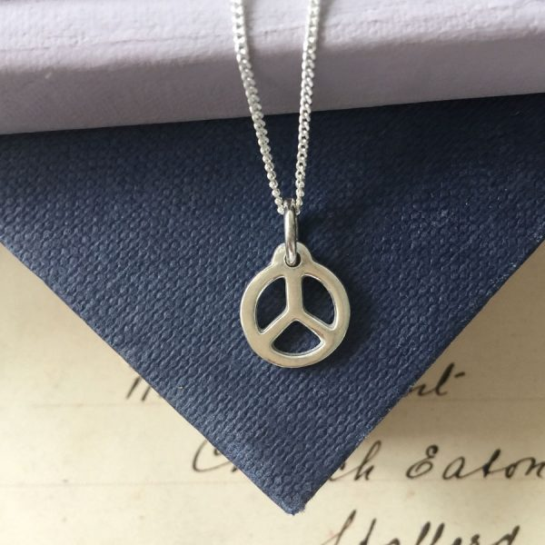 Sterling Silver Peace and Harmony Necklace