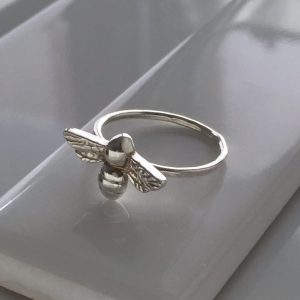 Bee Ring in Sterling Silver