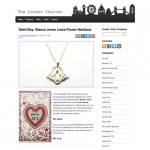 The London Chatter Lotus Flower Necklace