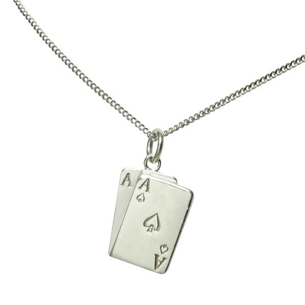 Ace of Spades Necklace
