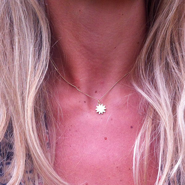 Gold Starbright Necklace