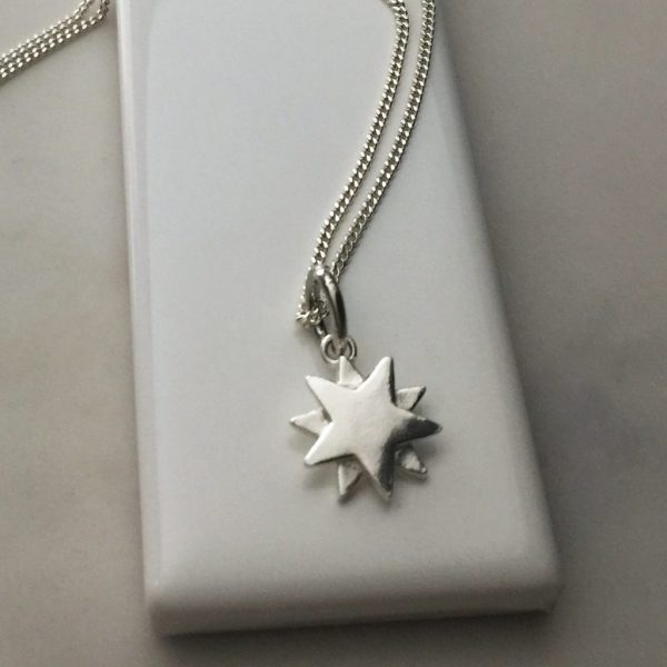 Starbright Necklace in Sterling Silver