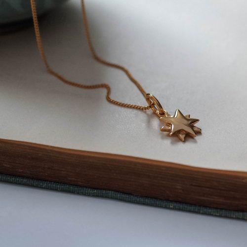 Starbright Necklace Gold Vermeil