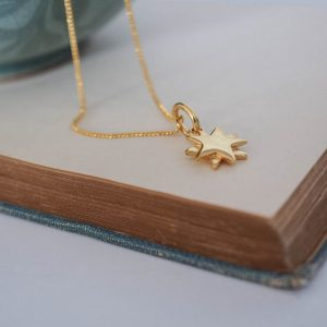 Starbright Necklace Gold Vermeil by Bianca Jones Jewellery