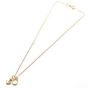 Anchor and Horseshoe Necklace