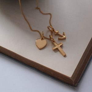 Faith, Hope, Charity Necklace