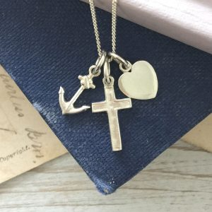 Faith, Hope and Charity Necklace