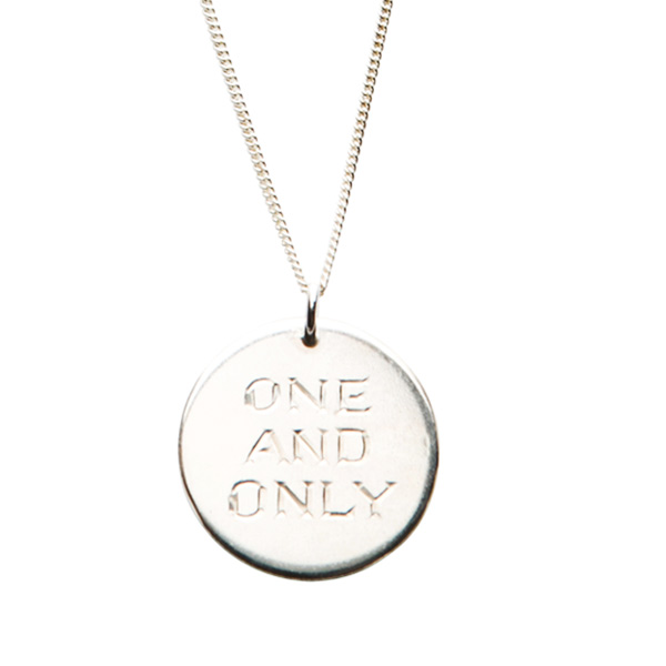 One and Only Necklace Silver