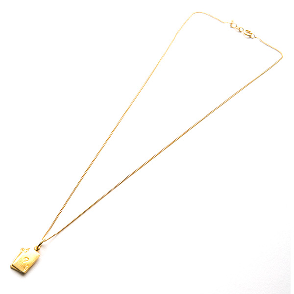 Gold Ace Necklace