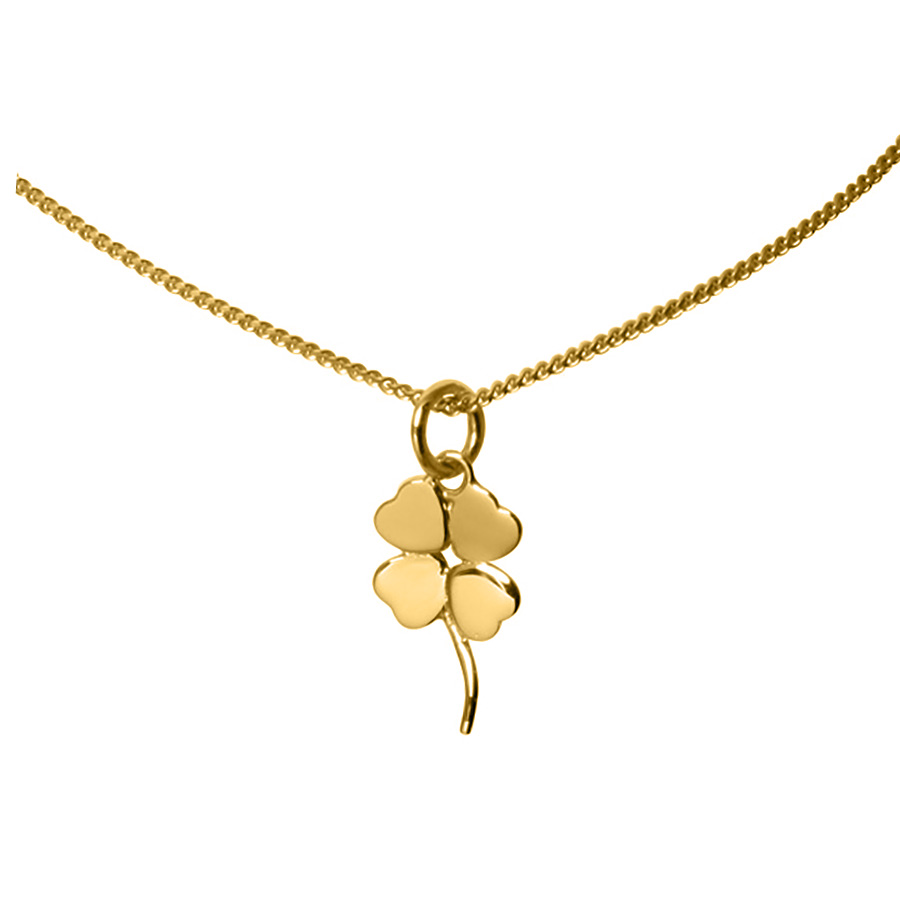 necklace p clover leaf htm
