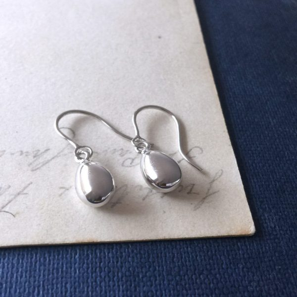 Teardrop Drops in Sterling Silver
