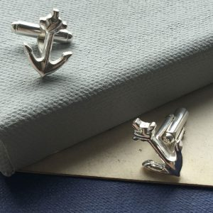 anchor cufflinks - For Him