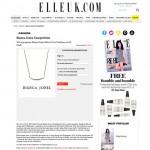 Elle Uk Forever Strong Curve Necklace