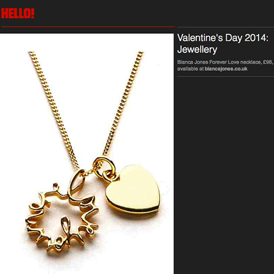 Hello! Forever Love Necklace