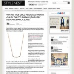 Style Nest Forever Strong Curve Necklace