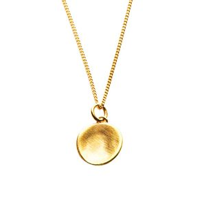 Gold Cosmos Necklace
