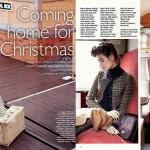 S Magazine Compass Necklace