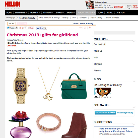 Forever Lucky Necklace in Hello