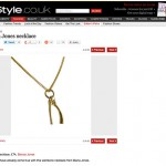 InStyle Wishbone Necklace