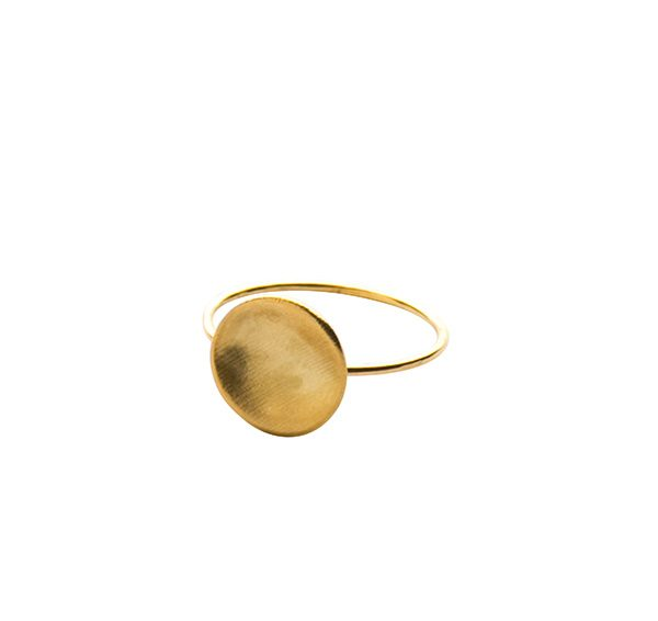 Gold Cosmos Ring