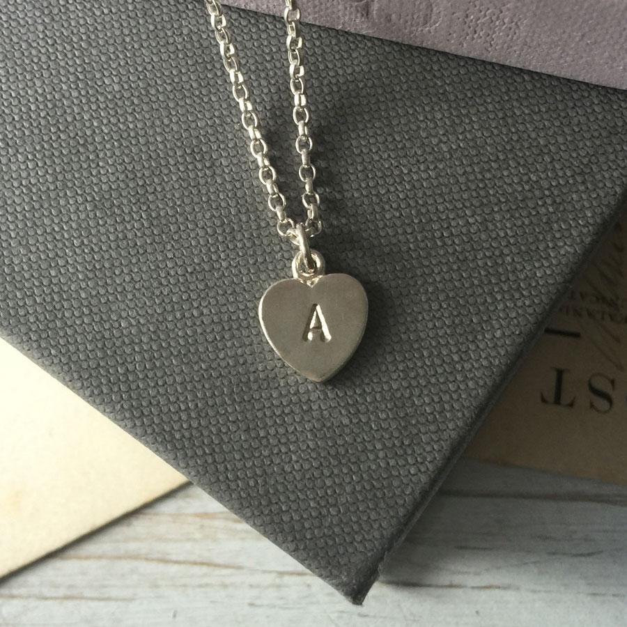 Letter Love Heart Bracelet