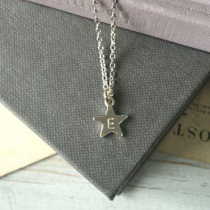 Letter Star Bracelet