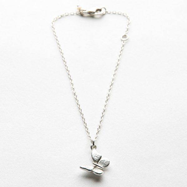 Baby Butterfly bracelet in Sterling Silver