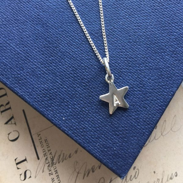 Letter Star Necklace