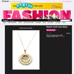 Compass Necklace on the Telegraph