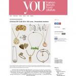 You Magazine personalised diamond bracelet