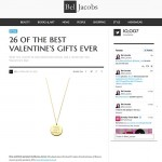 Bel Jacobs features One and Only Necklace