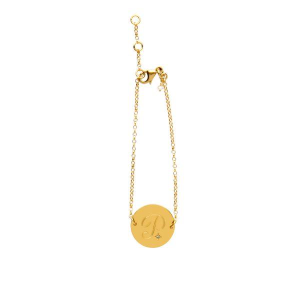 Alexandrite Birthstone Bracelet in Gold Vermeil
