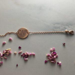 ruby-initial-bracelet