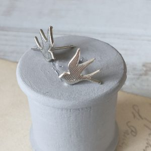 Baby Swallow Stud Earrings