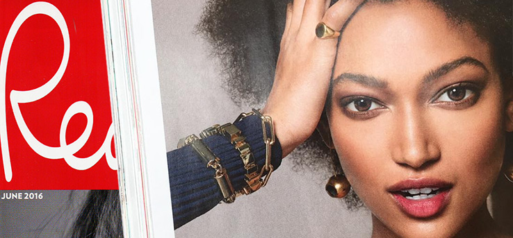 Red Magazine features fierce Bianca Jones Signet Ring