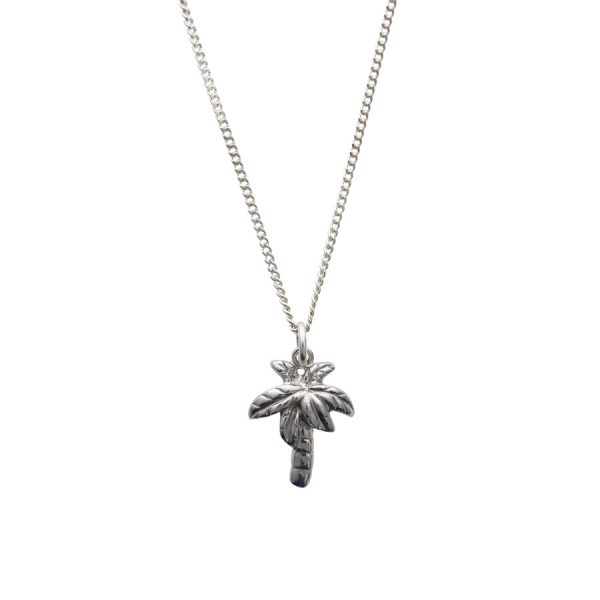 PalmTree Necklace in Sterling Silver