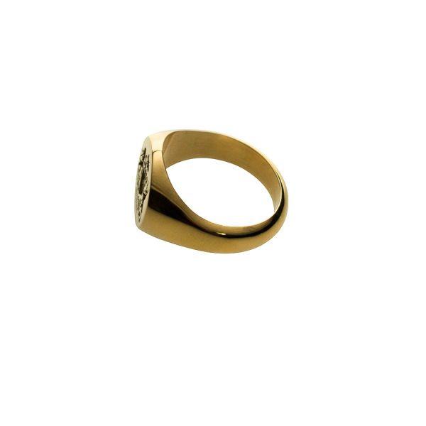 Smallest Face Fettesian Signet Ring