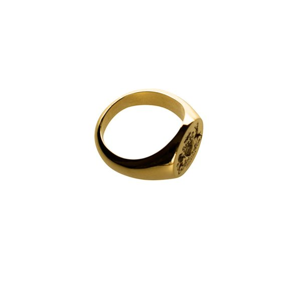Medium Face Fettesian Signet Ring