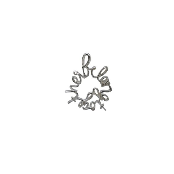 'Belong Together' Charm in Sterling Silver