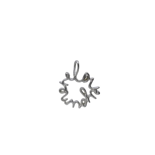 'Love You More' charm in medium