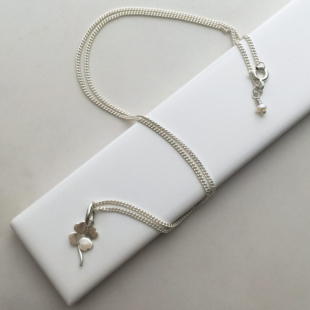 Lucky Rings Sterling Silver Necklace