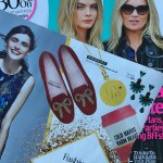 Look Magazine features Ruby Initial Necklace