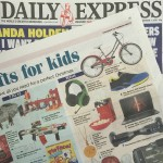 Daily Express features Ruby Initial Necklace