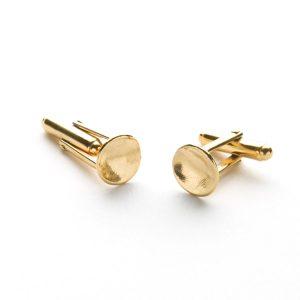 Cosmo Cufflinks in Gold Vermeil