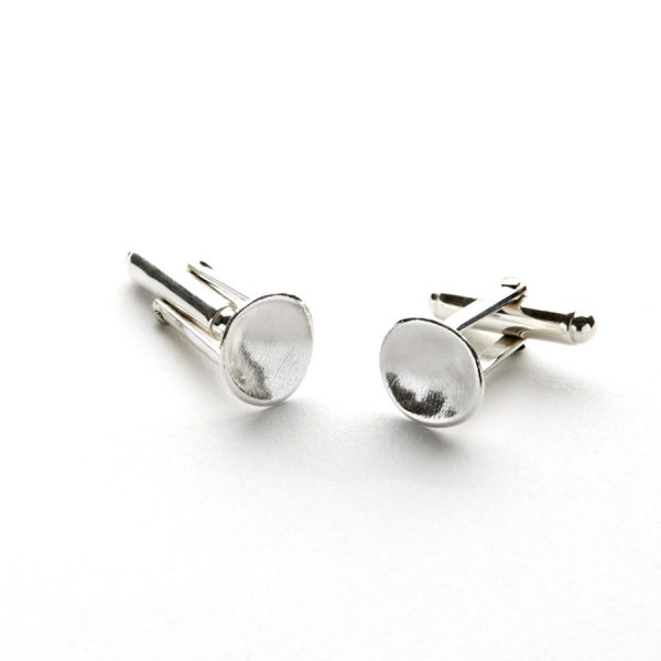 Cosmo Cufflinks in Sterling Silver