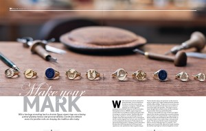 In London features Signet Rings
